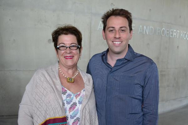 Molly Smith and Alan Paul