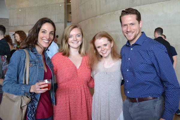Heidi Kershaw-Quick, Katie Arthur, Bridget Riley and Victor Wisehart