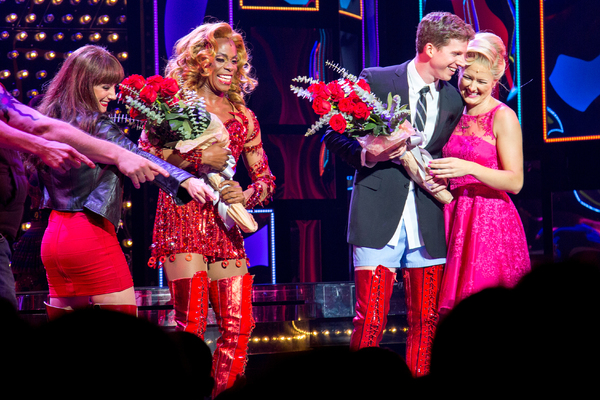 Shannon O'Boyle, Billy Porter, Stark Sands, Delaney Westfall Photo