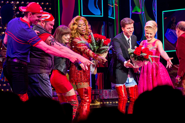Photo Coverage: They're Back! Billy Porter and Stark Sands Return to KINKY BOOTS