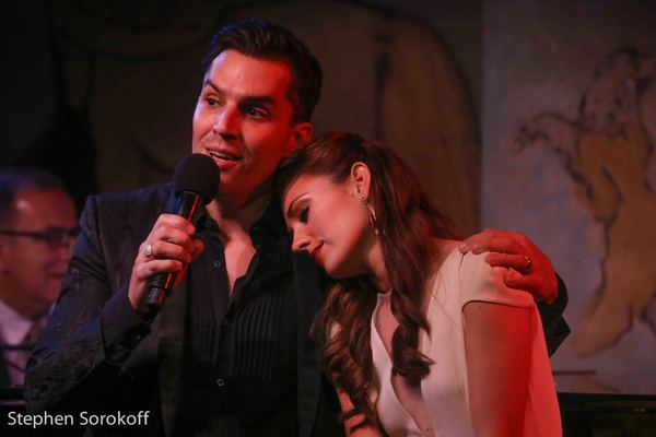Photos: Laura Osnes Returns to Cafe Carlyle with Ted Sperling and Special Guest Ryan Silverman