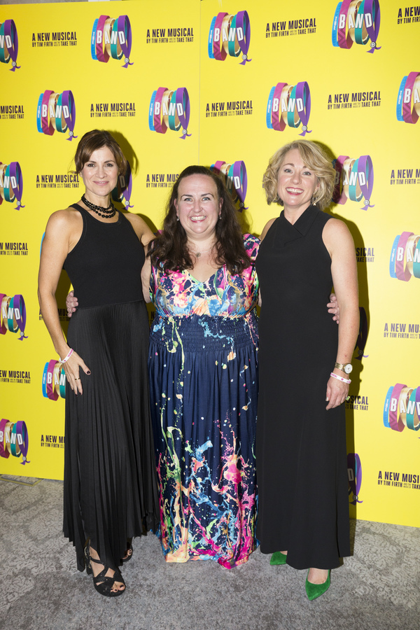 Jayne McKenna, Alison Fitzjohn and Emily Joyce