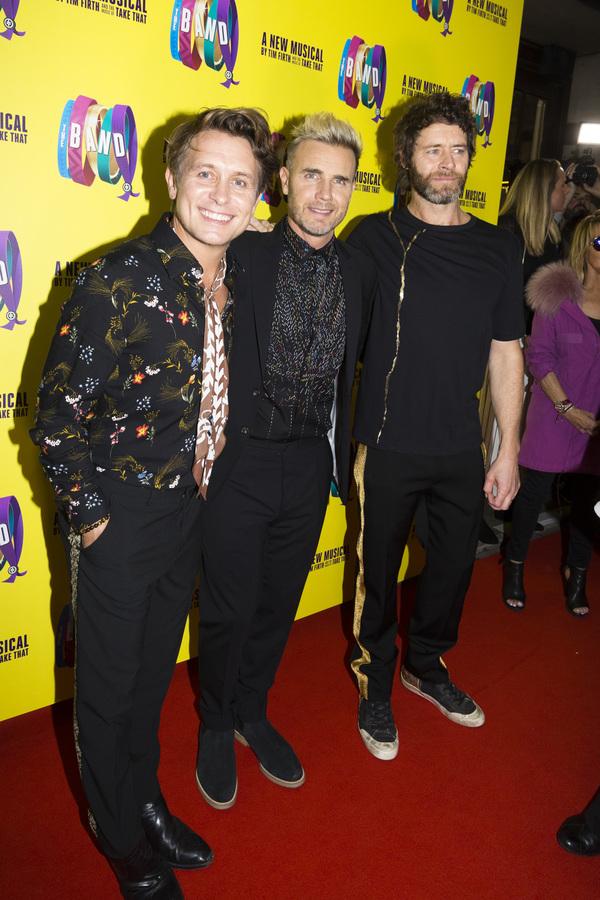 Mark Owen, Gary Barlow and Howard Donald Photo