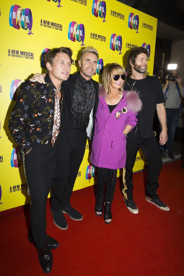 Mark Owen, Gary Barlow, Lulu and Howard Donald Photo