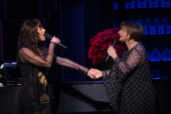 Frances Ruffelle and Patti LuPone
