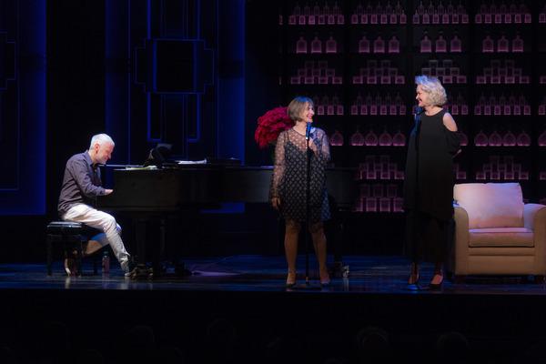 Patti LuPone and Christine Ebersole with Scott Frankel