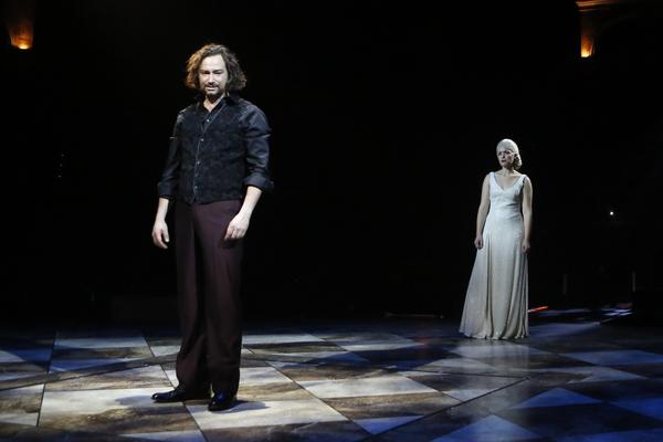 Constantine Maroulis and Briana Carlson-Goodman