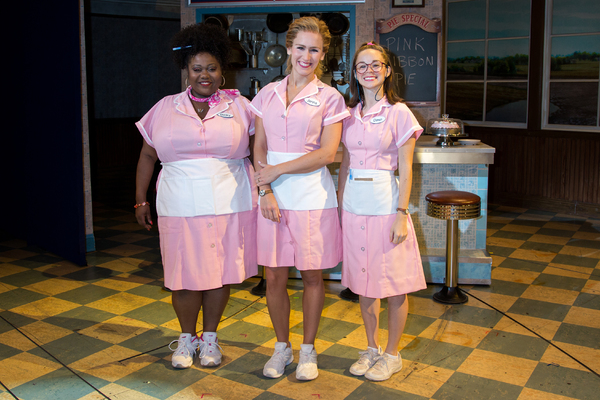 Photo Coverage: WAITRESS Unveils Pink Costumes for  Breast Cancer Awareness Month!
