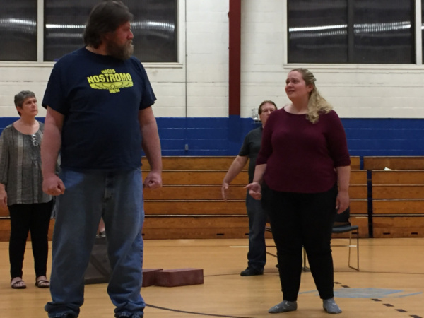 Photo Flash: First Look at Re-Imagine Theater's TROY WOMEN