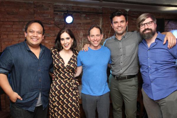Jay Paranada, Stephanie D'Abruzzo, Garth Kravits, Nico Baumgartner, and music  Matt T Photo