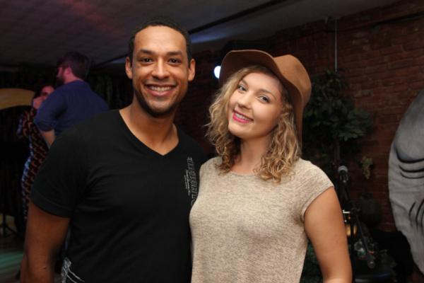 Kyle Carter and Grace Leszynski. Photo