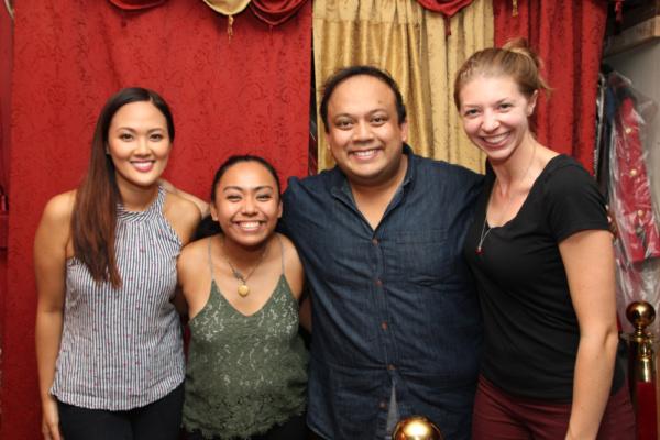 Dianne Kaye, Cinderella Mayo, Jay Paranada, and Larissa Adamczyk