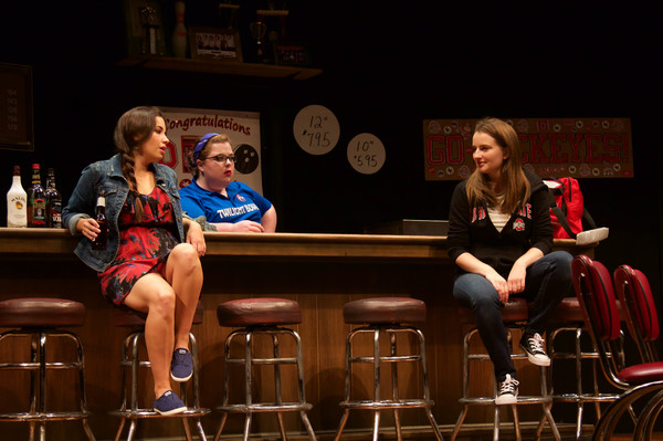 ayley Burgee (Clarice), Becca Savoy (Sam) and Mary Taylor (Brielle) in Twilight Bowl