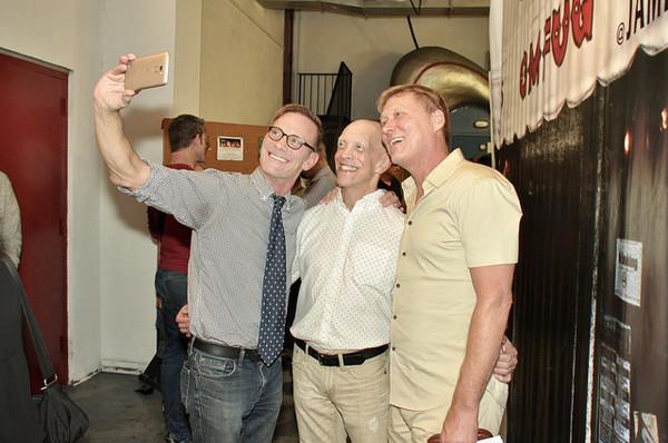 David Drake, Andy Halliday and Robert LaFosse