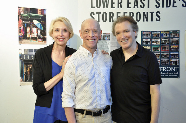 Julie Halston, Andy Halliday and Charles Busch