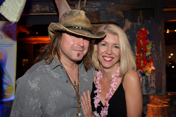 Christopher Jahnke and Kelly Devine
