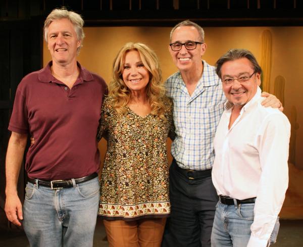 Peter Kellogg, Kathie Lee Gifford, David Friedman, and Bill Castellino