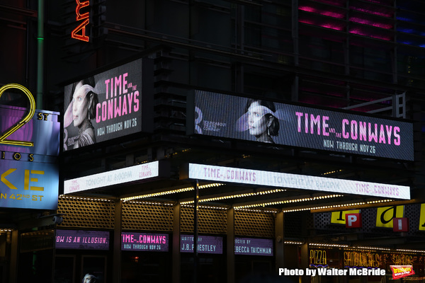 Up on the Marquee: TIME AND THE CONWAYS