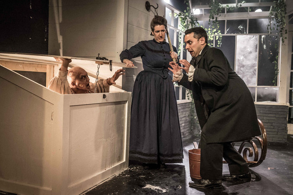 Photo Flash: First Look at Akvavit Theatre's 'GHOSTS & zombies' at Strawdog Theatre