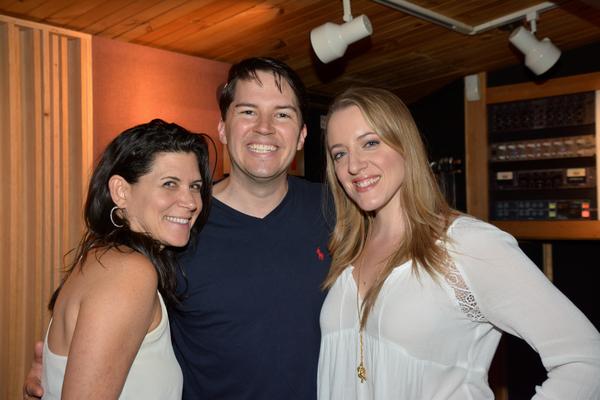 Dani Davis, Kevin Duda and Abby Mueller