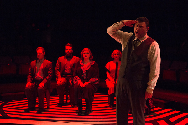 Photo Flash: First Look at ADDING MACHINE at Theatre Three