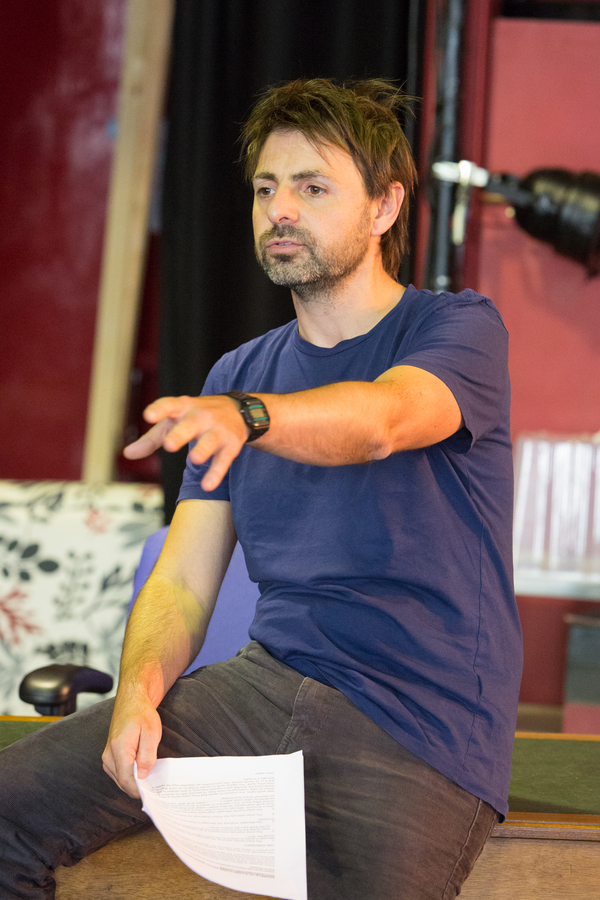 Photo Flash: In Rehearsals for OXY AND THE MORONS at The New Wolsey Theatre