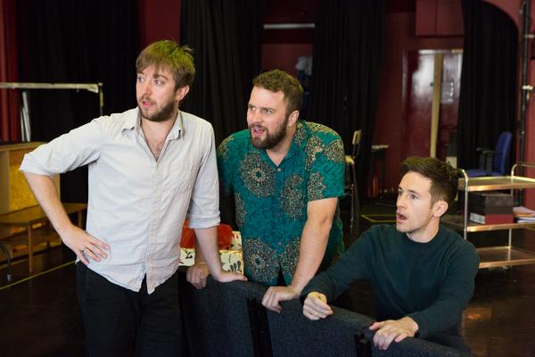 Mark Newnham, Adam Langstaff, and Matthew Durkan