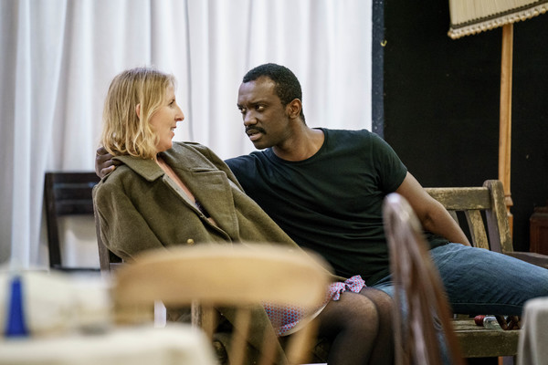 Photo Flash: Inside Rehearsal for THE SLAVES OF SOLITUDE at Hampstead Theatre