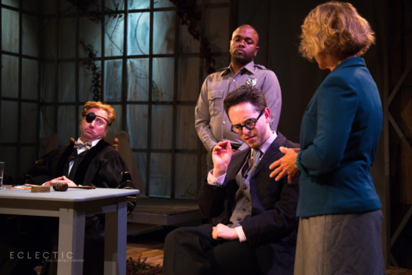 Sigmund Freud (Aaron Lockman) testifies in THE LAST DAYS OF JUDAS ISCARIOT at Eclecti Photo