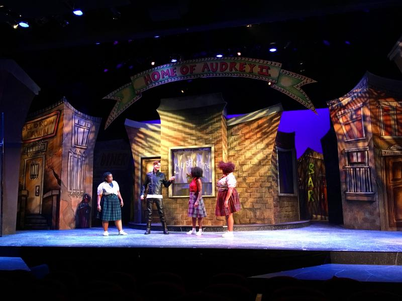 LITTLE SHOP OF HORRORS at Mill Mountain Theatre