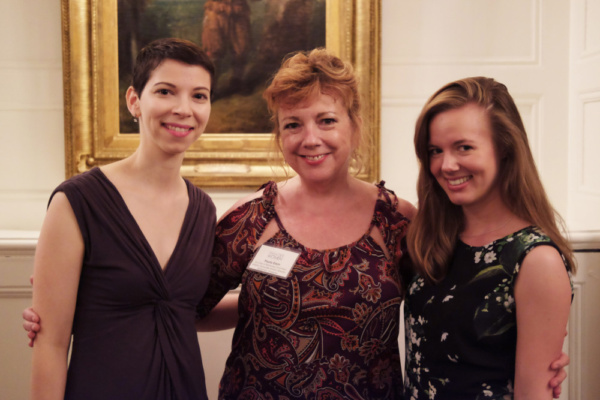LPTW Mentoring Committee Chair Paula Ewin and new LPTW Apprentices mingle at the Seas Photo