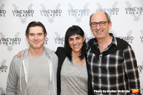 Photo Coverage: HARRY CLARKE Trio Gets Ready for Vineyard Theatre Debut!