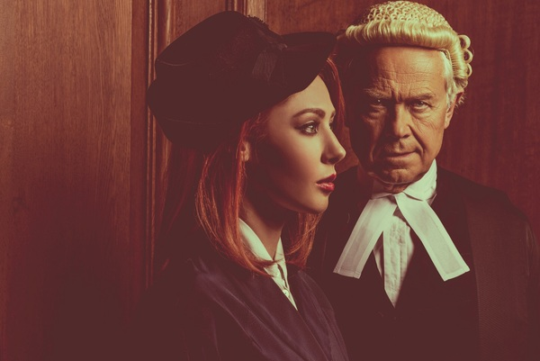 Photo Flash: First Look at Catherine Steadman, Jack McMullen and More in WITNESS FOR THE PROSECUTION