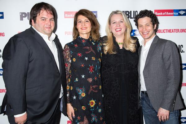 Marshall Heyman, Nia Vardalos, Cheryl Strayed, Thomas Kail Photo