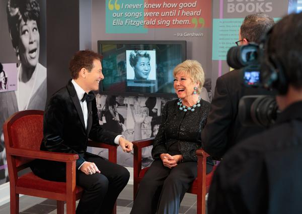 Michael Feinstein and Mitzi Gaynor Photo
