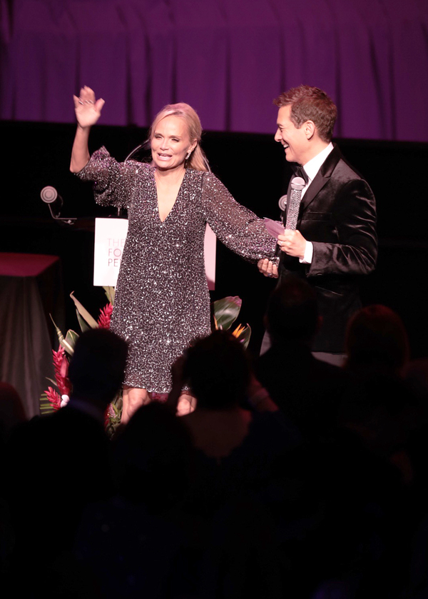 Kristin Chenoweth and Michael Feinstein Photo