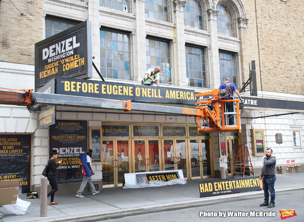 Up on the Marquee: THE ICEMAN COMETH with Denzel Washington