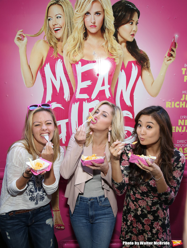 Kate Rockwell, Taylor Louderman and Ashley Park