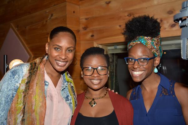 Chondra Profit Ardrey, Phindile Nyandeni and Kimberly Marable