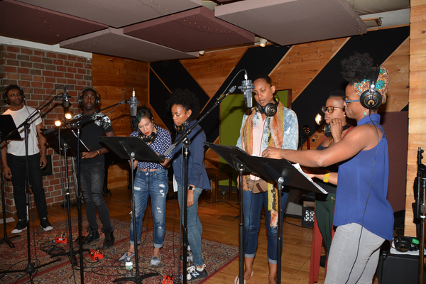 Exclusive Photo Coverage: THE LION KING cast Channels Their Inner-Child for Carols For A Cure!