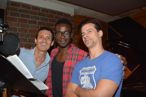 Ted Brunetti, Bradley Gibson and Dominic Nolfi