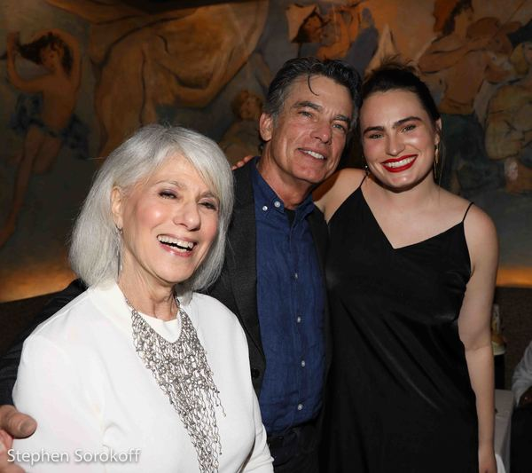 Jamie deRoy, Peter Gallagher, Kathryn Gallagher
