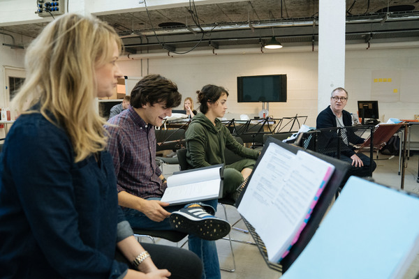Photos: They've Got No Strings! Inside Rehearsal with John Tiffany, Dennis Kelly, Martin Lowe and More for PINOCCHIO at the National Theatre