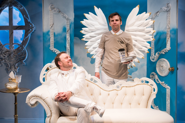 Photo Flash: Get A First Look At AN ACT OF GOD at Signature Theatre