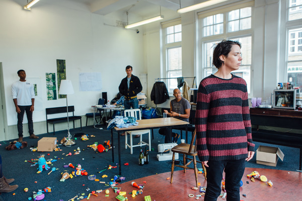 Photo Flash: Inside Rehearsal for the UK Premiere of SUZY STORCK at Gate Theatre