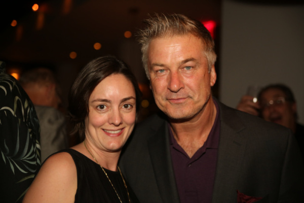 Mandy Oser & Alec Baldwin Photo