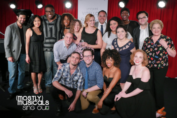 Photo Flash: (mostly)musicals: SING OUT in Performance at Vitello's!