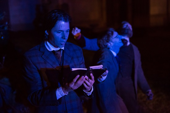 Theatre in Historic Places: No Rest for the Wicked in WICKED LIT at Mountain View Mausoleum
