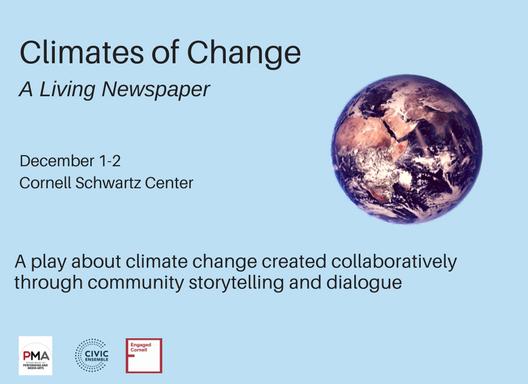 Civic Ensemble & Cornell to Investigate Climate Change Through Theatre