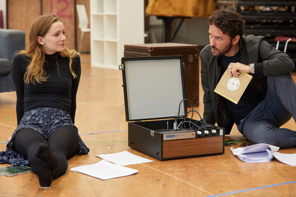 Photo Flash: Inside Rehearsal for THE CHERRY ORCHARD at Sherman Theatre